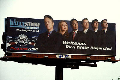 Welcome, Rich White Oligarchs!